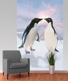 Penguins Wallpaper Mural Fototapeta