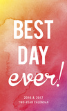 Best Day Ever - 2016 2 Year Pocket Calendar Calendars