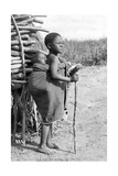 Kinder in Südafrika, 1910 Impressão fotográfica por Scherl Süddeutsche Zeitung Photo