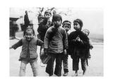 Kinder in China, 1921 Impressão fotográfica por  Süddeutsche Zeitung Photo