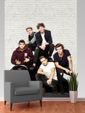 One Direction Group Wallpaper Mural Fototapeta