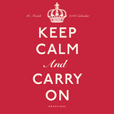 Keep Calm and Carry On - 2016 Mini Calendar Calendars