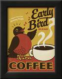 Early Bird Blend Coffee Prints by  Anderson Design Group