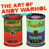 Art of Andy Warhol - 2016 Calendar Calendars