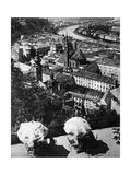 Panoramabild von Salzburg, 1921 Photographic Print by Scherl Süddeutsche Zeitung Photo