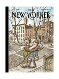 The New Yorker Cover - March 16, 2015 Regular Giclee Print by Ricardo Liniers
