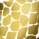 Gold Nairobi Square III (gold foil) Affiche par Nicholas Biscardi