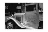 Der erste Ford-Lastwagen Deutschlands auf der Straße, 1931 Photographic Print by Scherl Süddeutsche Zeitung Photo