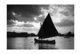 Segelboot bei Ancona, 1930er Jahre Photographic Print by  Scherl