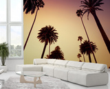 California Palm Trees Wallpaper Mural Wallpaper Mural