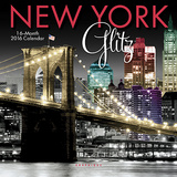 New York Glitz - 2016 Mini Calendar Calendars