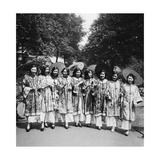 Scherl - Schönheitswettbewerb in China, 1930 - Fotografik Baskı