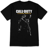 Call of Duty Advanced Warfare - Logo & Gunman T-Shirt