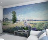 Claude Monet Argenteuil - Impressionist Wallpaper Mural Wallpaper Mural