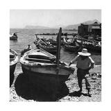 Hafen von Palermo, 1930er Jahre Photographie par  Knorr & Hirth