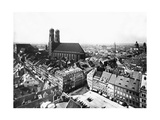 Marienplatz in Munich, 1860 Photographic Print by  Knorr & Hirth