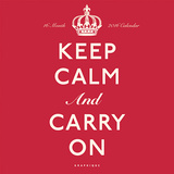 Keep Calm and Carry On - 2016 Calendar Calendars