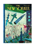 The New Yorker Cover - December 9, 1961 Premium Giclee Print by Anatol Kovarsky