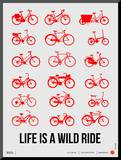 Life is a Wild Ride Poster II Mounted Print by  NaxArt