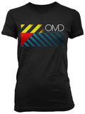 Juniors: OMD - US Tour Front T-shirts