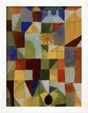 Urban Composition with Yellow Windows Framed Giclee Print by Paul Klee