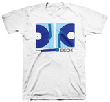 Beck - Turntables (slim fit) T-Shirts