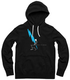 Hoodie: Queens of the Stone Age - Lightning Dude Pullover Hoodie
