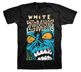 White Zombie - Blue Monster T-shirts