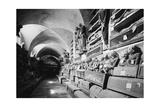 Die Katakomben der Kapuziner in Palermo (Le Catacombe dei Capuccini) Photographic Print by Knorr Hirth Süddeutsche Zeitung Photo