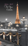 Paris Glitz - 2016 2 Year Pocket Planner Calendars
