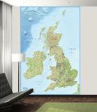 2015 British Isles Wallpaper Mural Wallpaper Mural