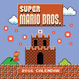 The Official Super Mario Brothers - 2016 Calendar Calendars