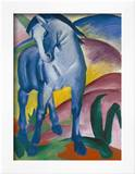 Blaues Pferd I., 1911 Art by Franz Marc