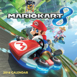 The Official Mario Kart - 2016 Calendar Calendars