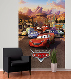 Disney Cars Wallpaper Mural Mural de papel pintado