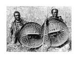 Abessinische Truppen im Krieg gegen Italien, 1935 Photographic Print by  SZ Photo