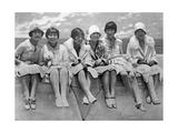 Wohlhabende Frauen in China, 1927 Photographic Print by Scherl Süddeutsche Zeitung Photo