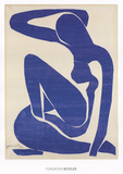 Blue Nude I Art by Henri Matisse
