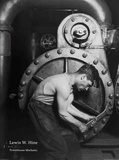 Powerhouse Mechanic Print by Lewis Hine