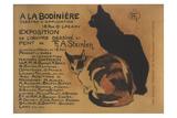 A La Bodiniere Art by Théophile Alexandre Steinlen