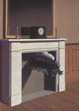 Rene Magritte - Time Transfixed - Reprodüksiyon