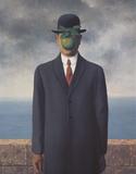 Son of Man Posters av Rene Magritte