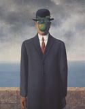 Son of Man Prints by Rene Magritte