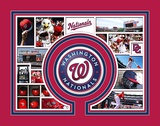 Washington Nationals Milestone & Memories Matted Print