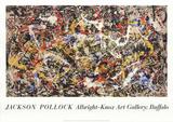 Convergence Reproductions pour les collectionneurs par Jackson Pollock
