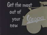 Get the Most Out of Your New Vespa Posters by  Unknown