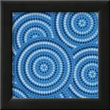 Aboriginal Abstract Art Print by  Piccola