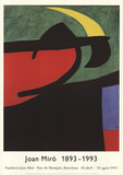 Catalan Peasant in the Moonlight Collectable Print by Joan Miró
