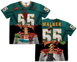 Short Sleeve: Zombie Football Player Tee Shirts