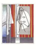 Figure and Profile Kunstdrucke von Pablo Picasso
